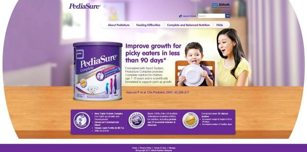 Sua Pediasure giup be tang can