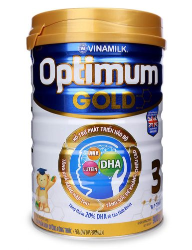 Sữa Optimum Gold 3 900g