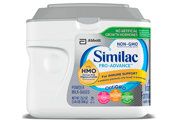 Sữa similac pro advance non gmo-hmo 658g