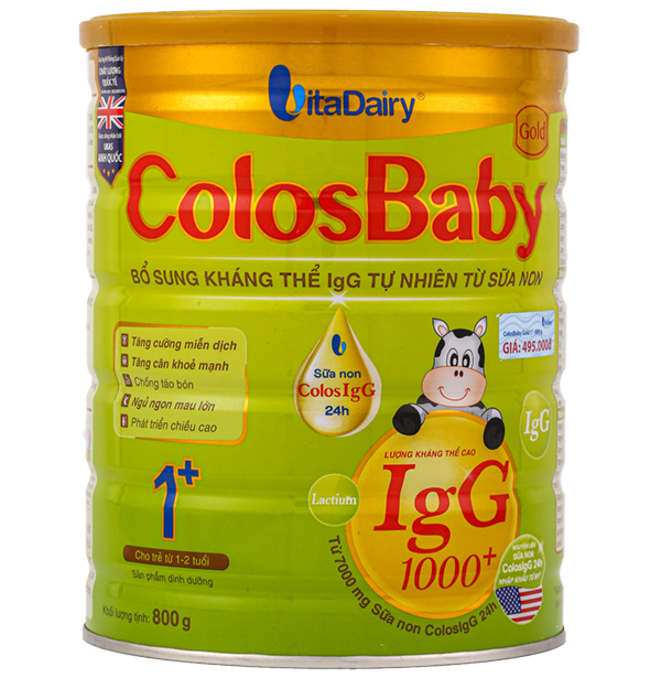 Sữa colosbaby 1+ 800g